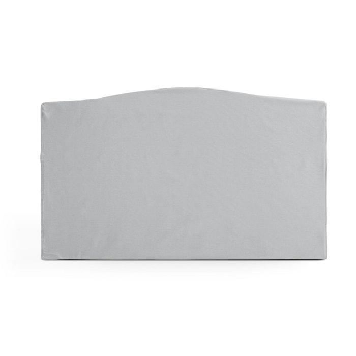Housse de t te de lit pur coton forme louis xv scenario for Housse tete de lit la redoute