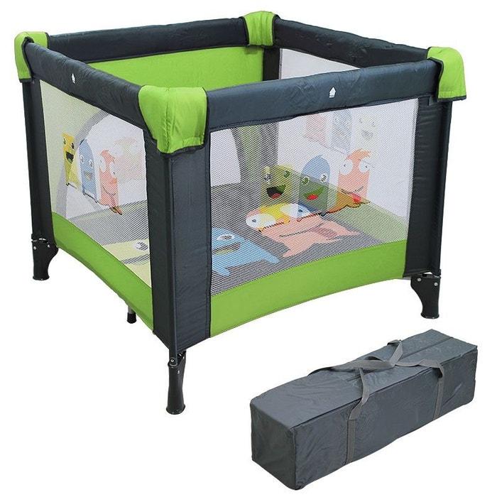 parc b b pliable 90cm x 90cm avec matelas sac de. Black Bedroom Furniture Sets. Home Design Ideas