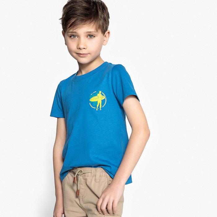 T-shirt scollo rotondo da 3 a 12 anni  La Redoute Collections image 0