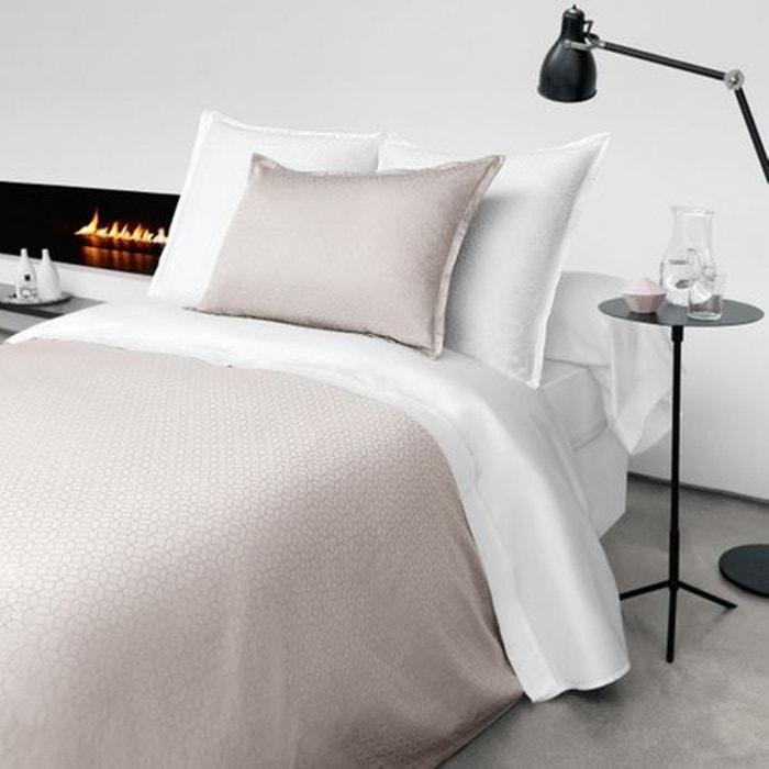 drap plat absolu blanc jalla la redoute. Black Bedroom Furniture Sets. Home Design Ideas