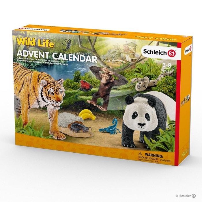 Schleich 97433 Calendrier De L Avent Wild Life 2017