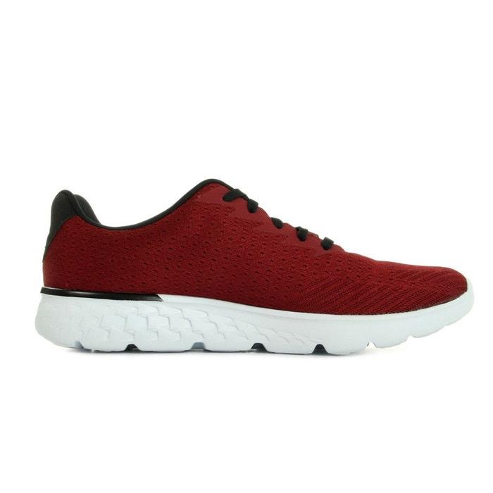 Go run 400 generate red black bordeaux, noir, blanc Skechers
