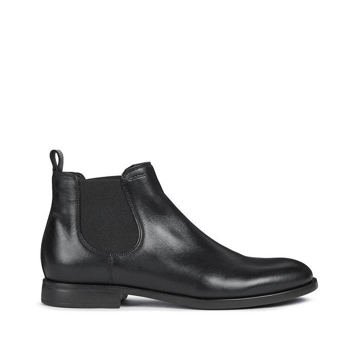 máquina de coser brazo Renacimiento  Domenico leather chelsea ankle boots black Geox | La Redoute