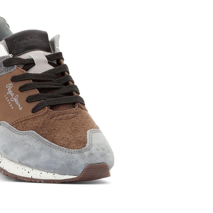 Baskets boston 2.0 gris Pepe Jeans
