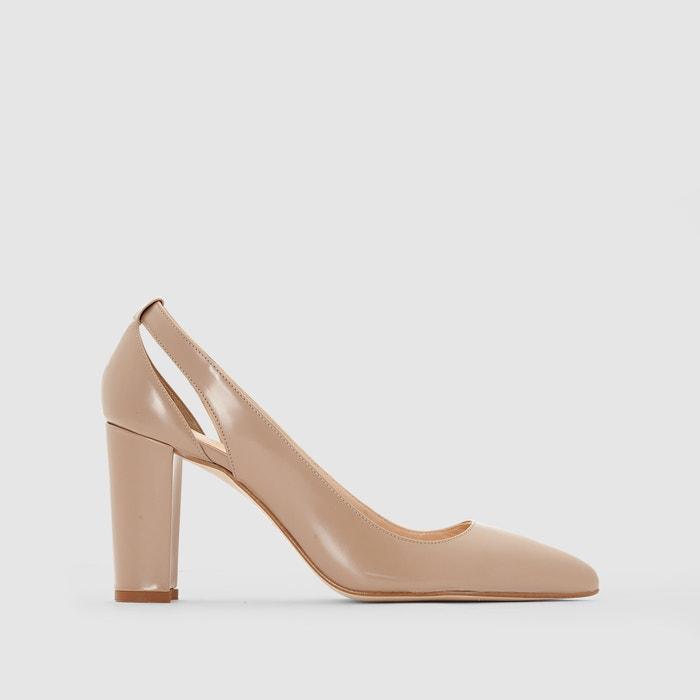 Imagen de Zapatos de tacón calados JONAK, en piel JONAK