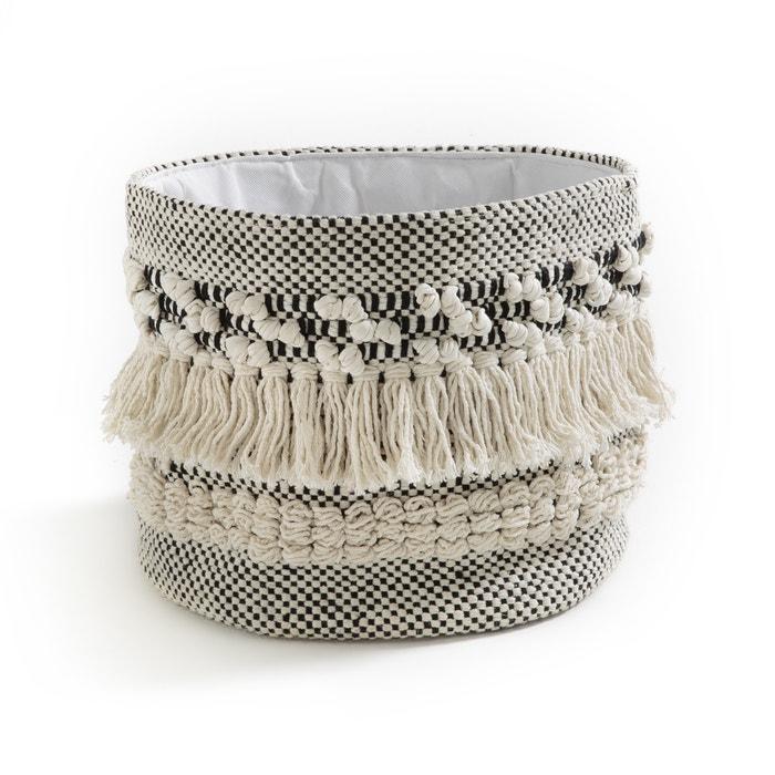 Cesto em algodão estilo kilim, LIKLIM  La Redoute Interieurs image 0