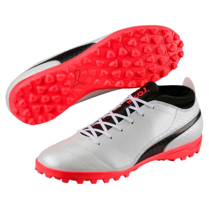 Chaussure de foot one 17.4 tt pour homme white-black-coral Puma