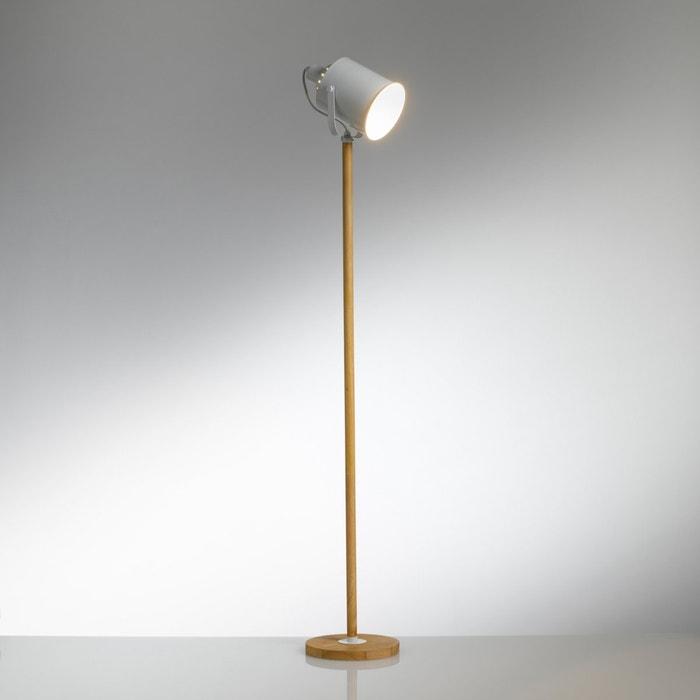 Staande lamp in metaal en hout, Tecia  La Redoute Interieurs image 0