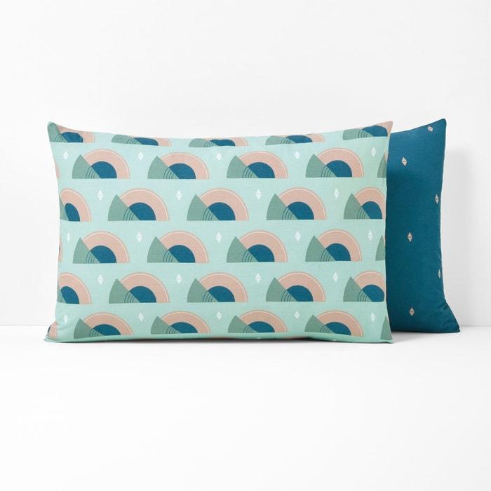 AUSTRA Printed Cotton Pillowcase  La Redoute Interieurs image 0