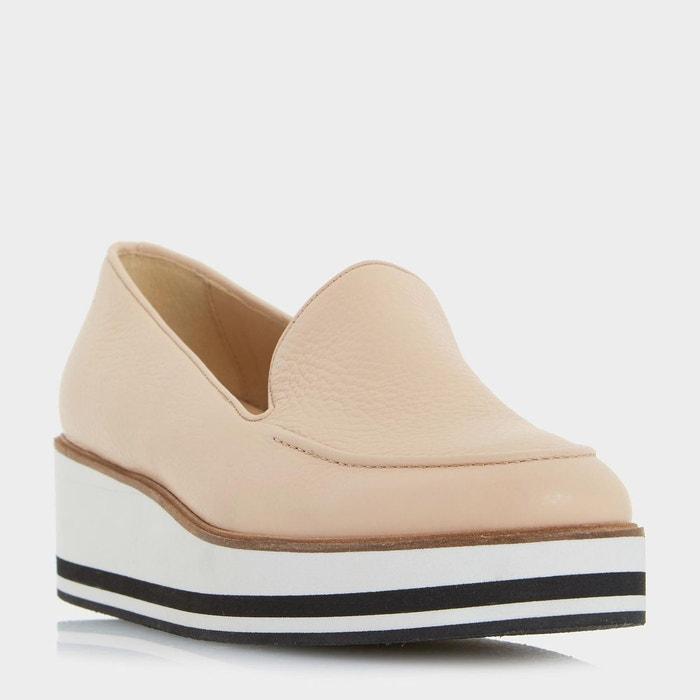 Chaussures à enfiler à plateformes - genesis Dune London