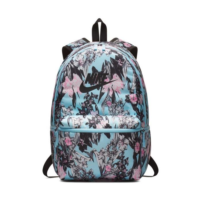 Heritage Floral Print Backpack Black Print Nike La