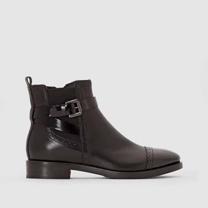 Imagen de Boots en cuir à bride BROGUE GEOX