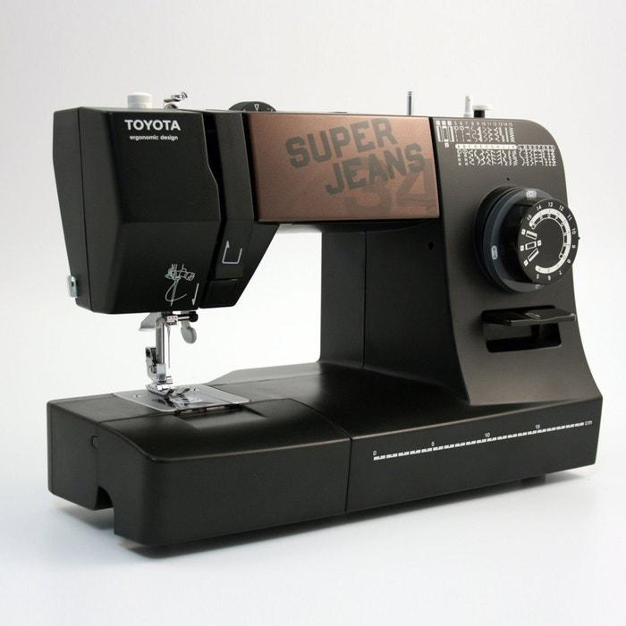 machine coudre superjeans j34 toyota noir la redoute. Black Bedroom Furniture Sets. Home Design Ideas