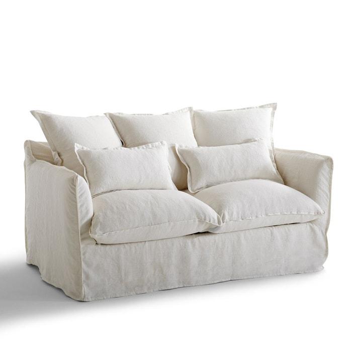 Housse de canapé lin froissé odna La Redoute Interieurs ...