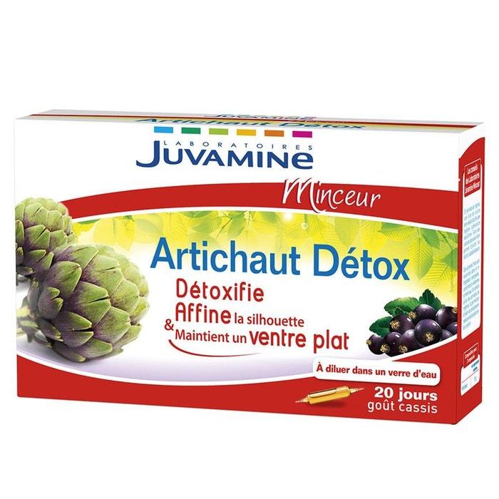 Minceur artichaut detox 20 ampoules Juvamine | La Redoute