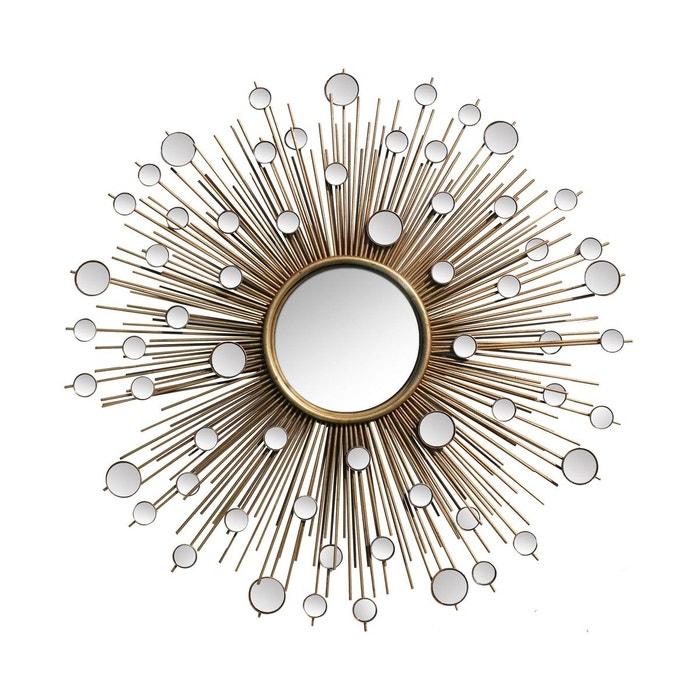 Miroir soleil cosmos 110cm or emde premium la redoute for Miroir emde deco