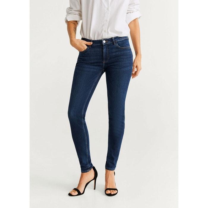 Mango Jeans skinny bleu foncé bleu