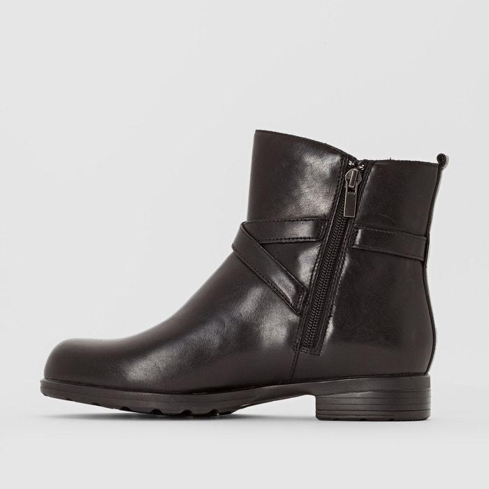 chesthuntbe cuir noir, noir, cuir clarks bottines a3883e
