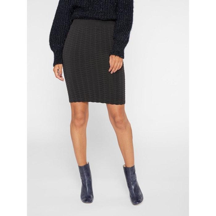 35c5d873251c0 Mini-jupe moulante élastique black Yas   La Redoute