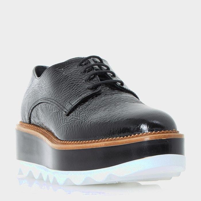 Chaussures à plateformes et lacets - flynne noir verni Dune Black