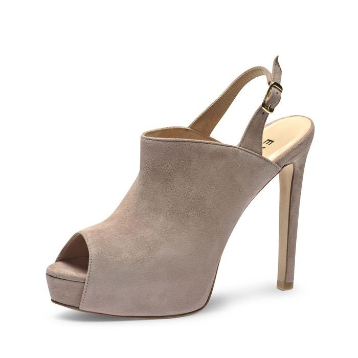 Sandales femme vieux rose Evita