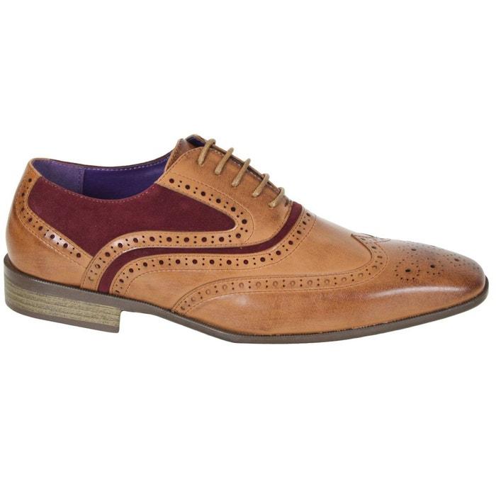 Chaussures elo580 tan/bx marron Kebello