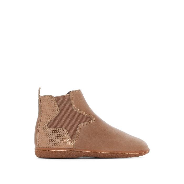 Image Boots pelle VERMILLON KICKERS