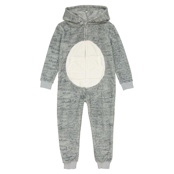 0bf5eaab3b9fb Combinaison pyjama koala 3-12 ans gris La Redoute Collections