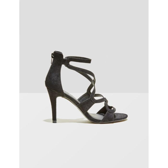 Sandales à talons noir Jennyfer