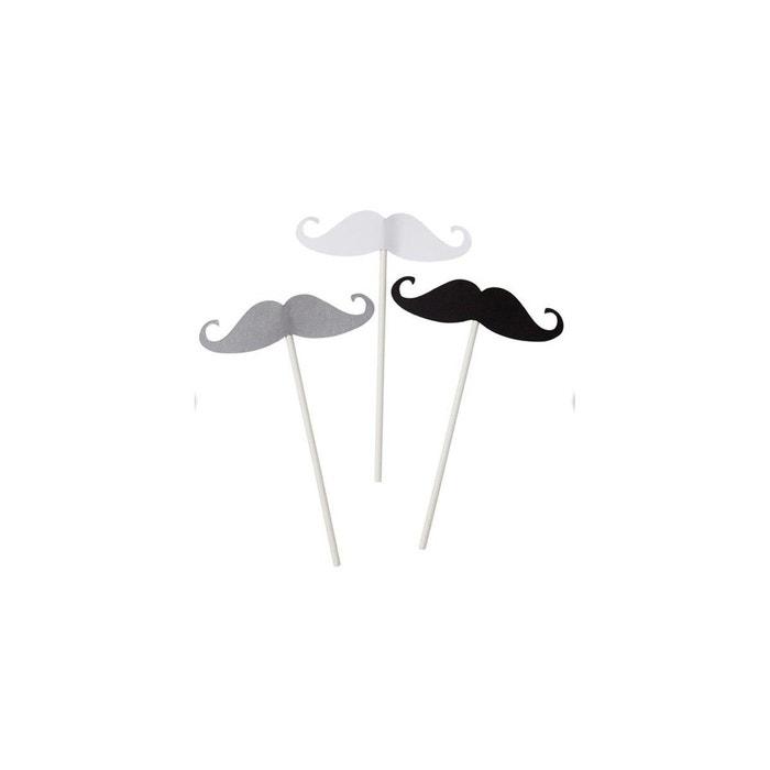 photobooth moustaches couleur unique rock my partie la redoute. Black Bedroom Furniture Sets. Home Design Ideas