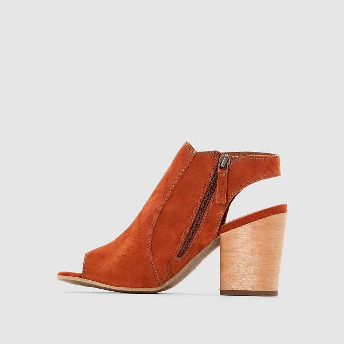 ... Sandales à talons, cuir, bouts et talons ouverts, TAMARIS (4) ...