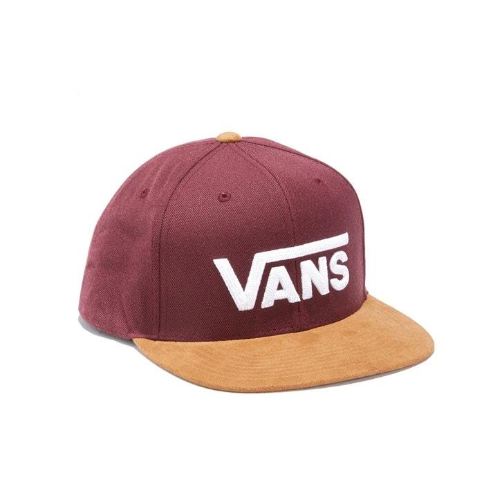 casquette rouge vans