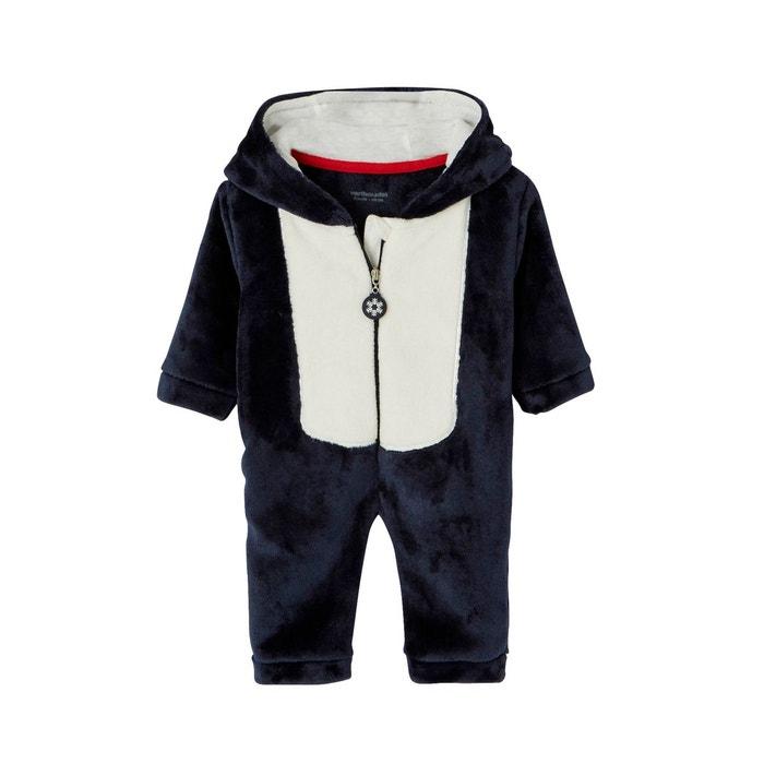 8dc58412ed194 Surpyjama bébé pour noël marine grisé Vertbaudet