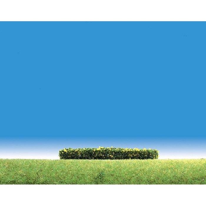 Modélisme : Végétation : 3 haies à fleurs jaunes PLAY TRAIN FALLER