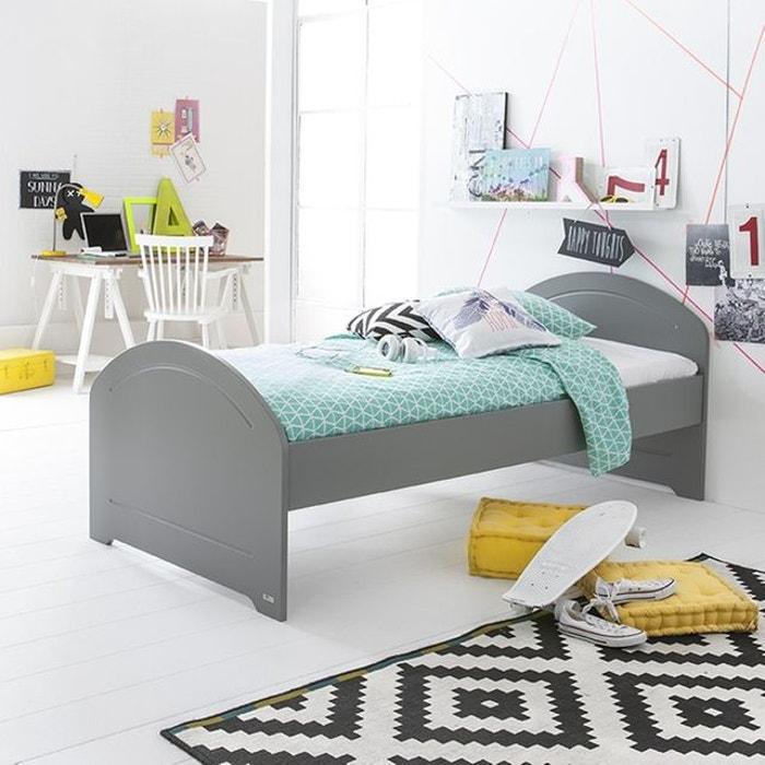 lit enfant 90x200 gris koala alban gris koala alfred et compagnie la redoute. Black Bedroom Furniture Sets. Home Design Ideas
