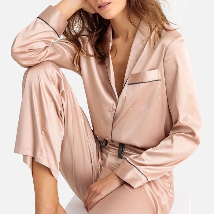 Pyjama soie femme   La Redoute