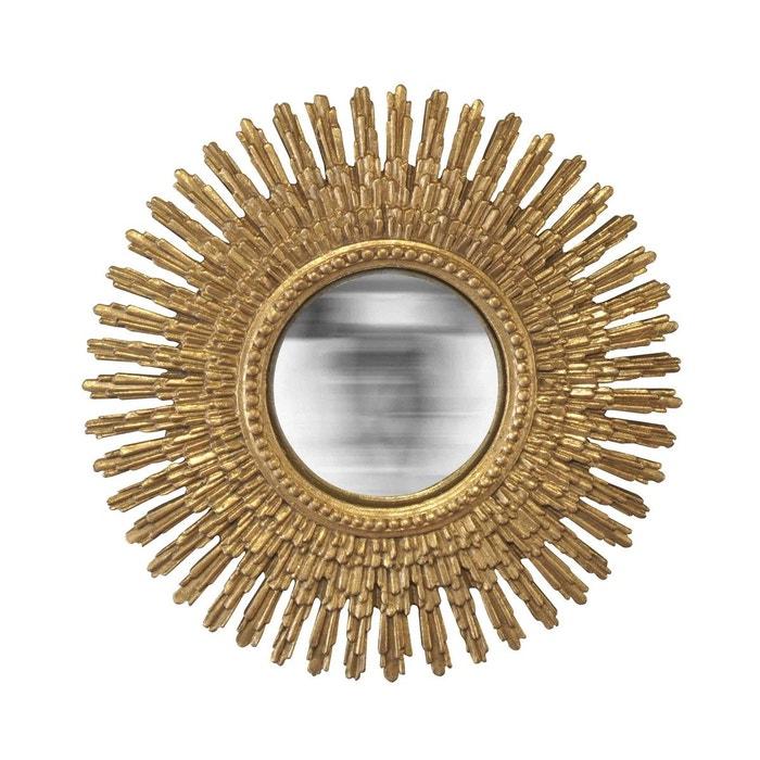Miroir soleil convexe nina or emde premium la redoute for Miroir emde deco