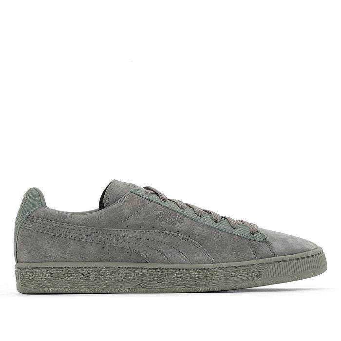 Baskets suede classic tonal vert grisé Puma