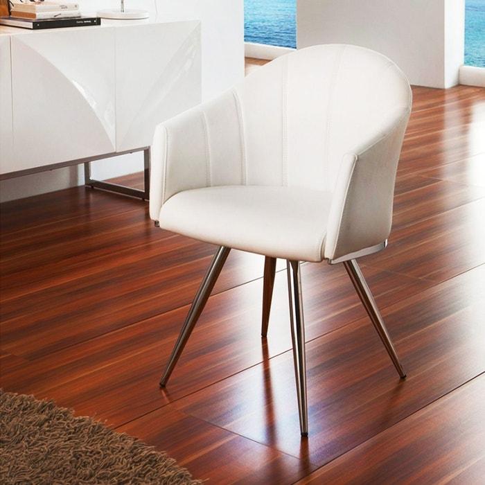 chaise de bureau moderne blanc