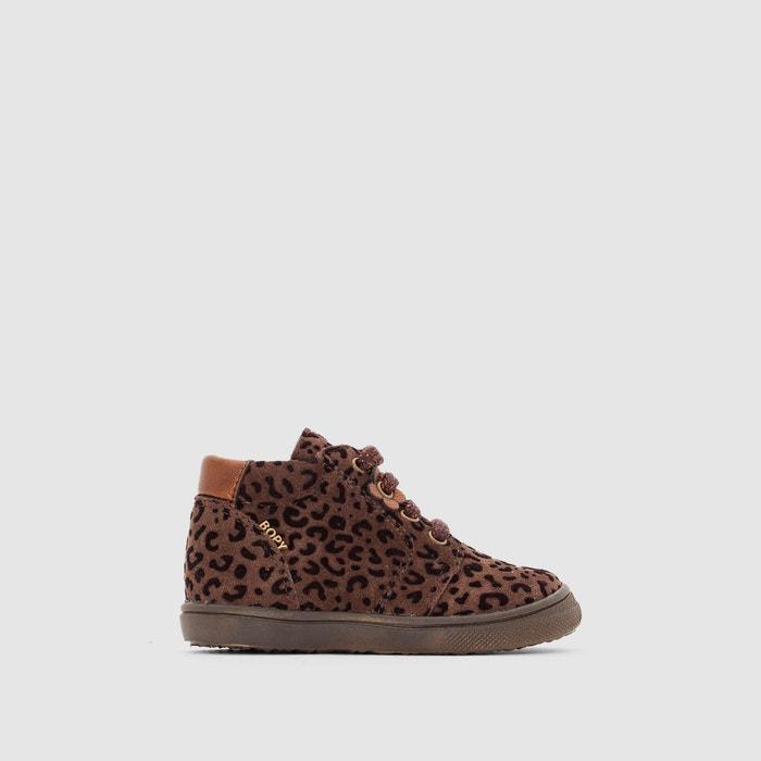 Imagen de Zapatillas de caña alta con estampado estilo leopardo BEOPA BOPY