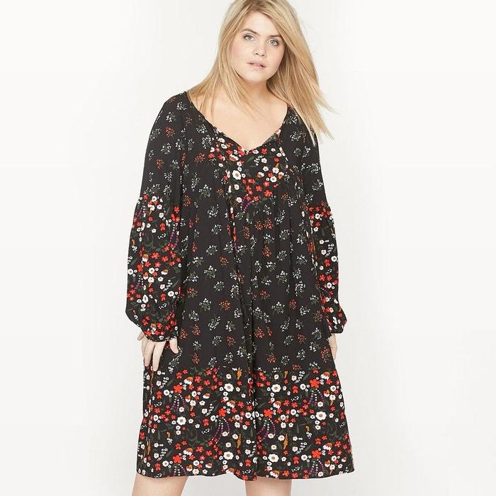 Robe housse imprimée fleurs CASTALUNA