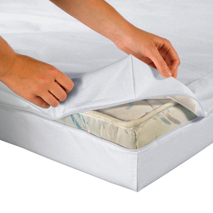 Waterproof Jersey Box Mattress Protector (12/15cm)  La Redoute Interieurs image 0