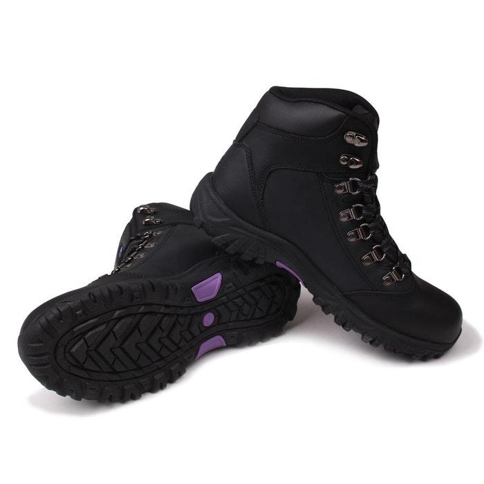 Bottes de marche à lacets noir Gelert