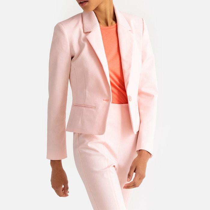 d23971218314 Kurzer taillierter blazer mit reverskragen La Redoute Collections | La  Redoute