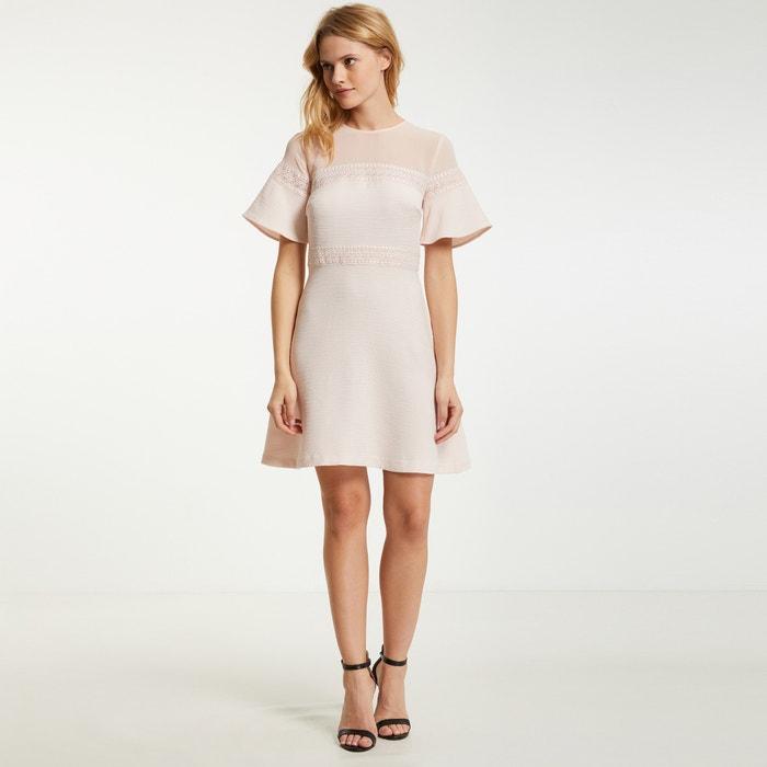 add7ea925107 Plain midi skater dress