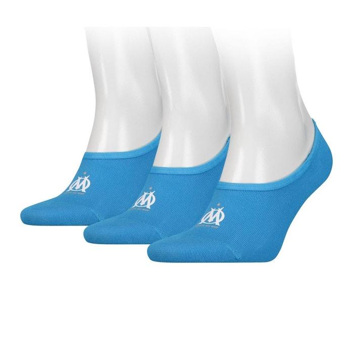 pas cher pour réduction prix incroyables la plus récente technologie Lot de 3 paires de Socquettes Puma OM Bleu
