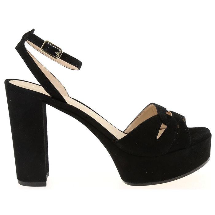 Sandales et nu-pieds unisa vetra noir Unisa