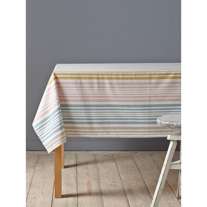 nappe ray e enduite coton tiss teint sans coloris cyrillus en solde la redoute. Black Bedroom Furniture Sets. Home Design Ideas
