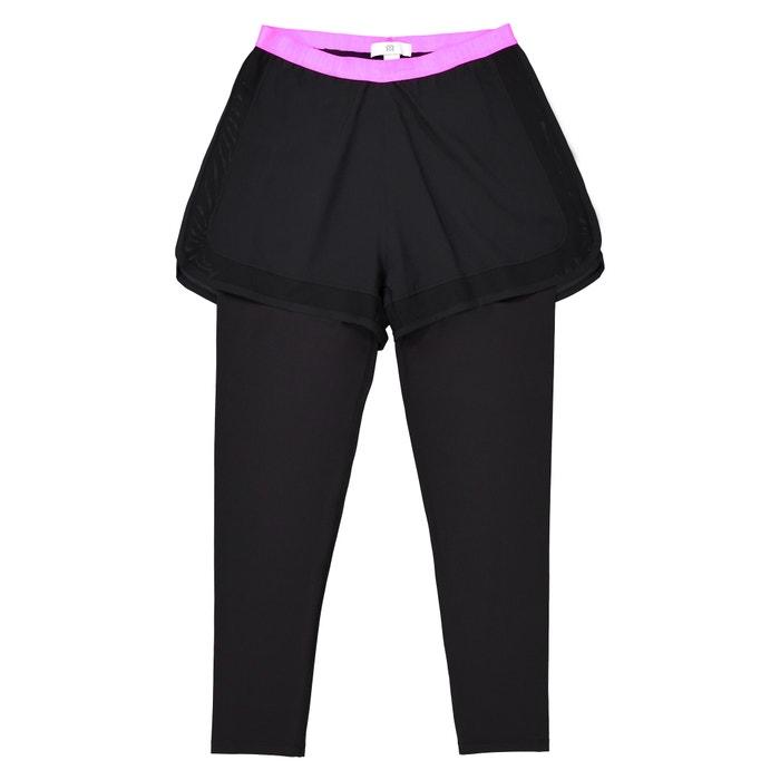 Completo shorts + leggings sportivi 10-16 anni  La Redoute Collections image 0