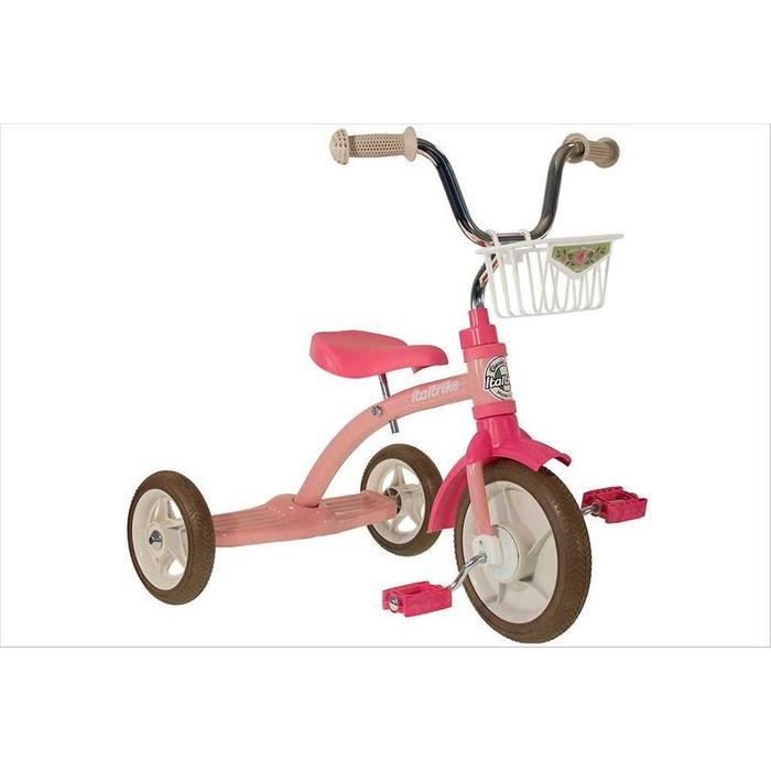 tricycle fille r tro rose couleur unique italtrike la redoute. Black Bedroom Furniture Sets. Home Design Ideas